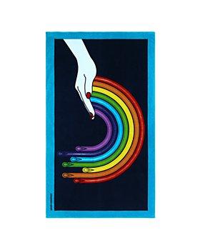 Jonathan Adler - Drip Rainbow Cotton Beach Towel