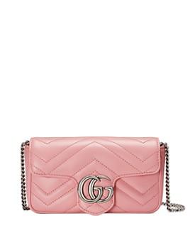Gucci - GG Marmont Matelassé Leather Super Mini Bag