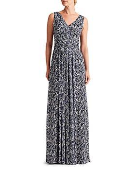 Ralph Lauren - Sienna Timor Leaves Printed Gown