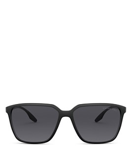 Prada - Men's Rectangle Polarized Sunglasses, 58mm