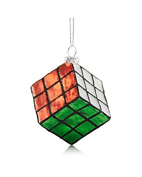 Bloomingdale's - Glass Cube Puzzle Ornament - 100% Exclusive