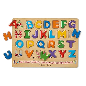 Melissa & Doug Alphabet Sound Puzzle - Ages 3+