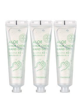 TONYMOLY - Aloe Chok Chok Hand Gel, Pack of 3
