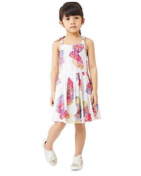 Peek Kids - Girls' Camila Butterfly Print Dress - Toddler, Little Kid, Big Kid