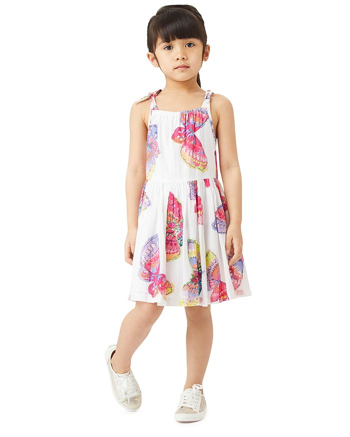 Peek Kids - Girls' Camila Butterfly Print Dress - Toddler, Little Kid, Big Kid