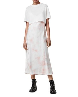 ALLSAINTS - Benno Tie Dyed T-Shirt Slip Dress