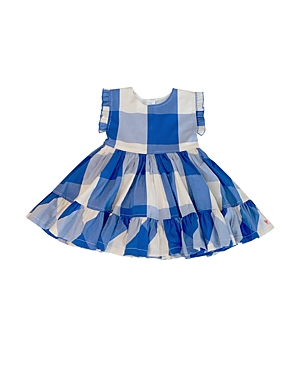 Pink Chicken Girls' Niley Gingham Print Dress - Big Kid