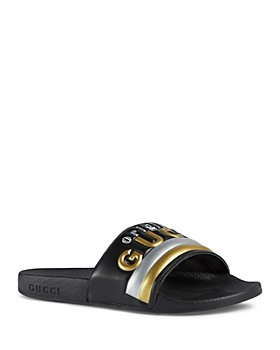 Gucci - Women's Pursuit Puffer Pool Slides
