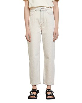 Sandro - Zebran Acid Wash Relaxed Fit Jeans