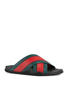 Gucci - Men's Agrado Flat Slide Sandals