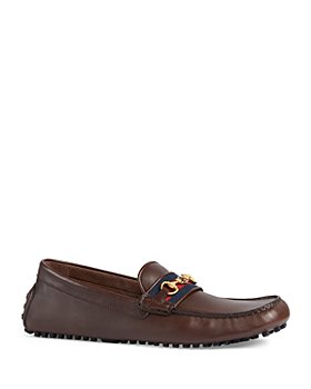 Gucci - Men's Ayrton Interlocking G Horsebit Drivers