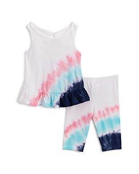 Splendid - Girls' Tie Dyed Burst Tank Top & Leggings Set - Baby