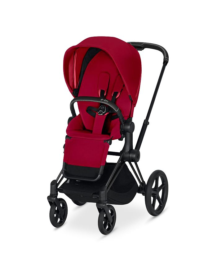 Cybex - ePriam Electronic Assist Stroller with Rose Gold Frame