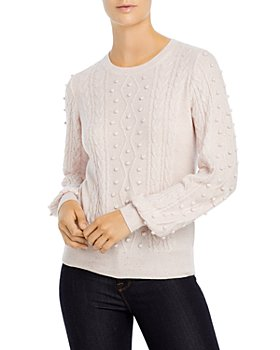 C by Bloomingdale's - Popcorn Cable Cashmere Sweater - 100% Exclusive