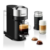 Deals on Nespresso Next Deluxe by DeLonghi w/Aeroccino Milk Frother