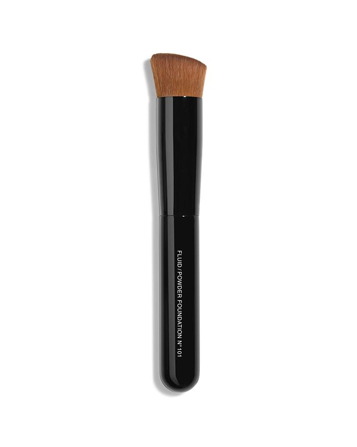 CHANEL - LES PINCEAUX DE CHANEL 2-in-1 Fluid & Powder Foundation Brush N°101