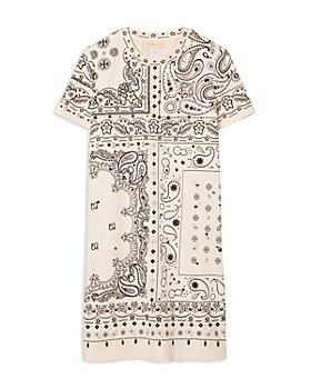 Tory Burch - Bandana Print T-Shirt Dress