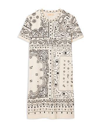 Tory Burch - Bandana Print T-Shirt Dress