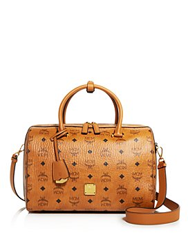 MCM - Boston Top Handle Bag