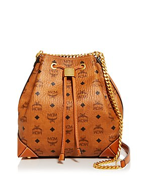 MCM - Drawstring Shoulder Bag