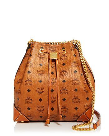 MCM - Drawstring Shoulder Bag
