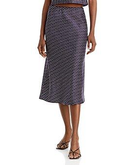 AQUA - Bias Cut Slip Skirt - 100% Exclusive