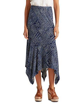 Ralph Lauren - Printed Handkerchief Skirt