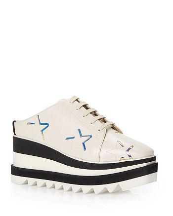 Stella McCartney - Women's Elyse Mule Wedge Platform Sneakers