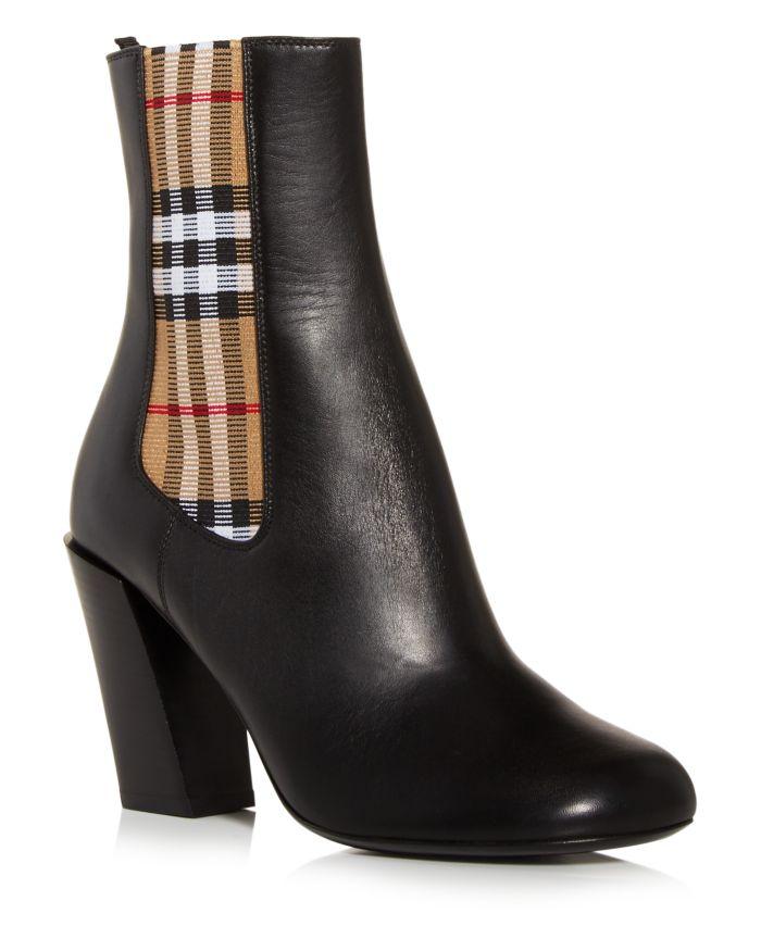 Burberry Women's Alderman High Heel Booties   | Bloomingdale's