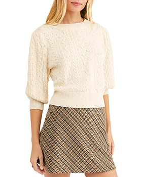 Free People - Villa Cable Pullover Sweater