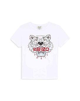 Kenzo - Girls' Cotton Tiger Logo Tee - Little Kid
