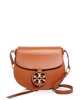 Tory Burch - Miller Leather Crossbody Saddle Bag