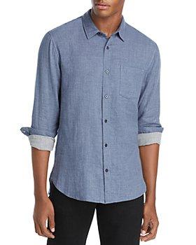 Vince - Double Face Woven Button Front Shirt