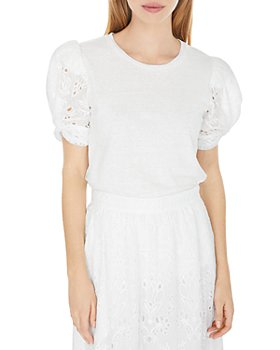 Generation Love - Coco Embroidered Combo Top