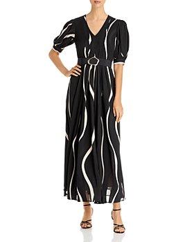 Lafayette 148 New York - Cascading Burnout Sutherland Dress