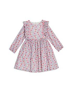 Pippa & Julie - Girls' Floral Ruffle Cotton Dress - Little Kid