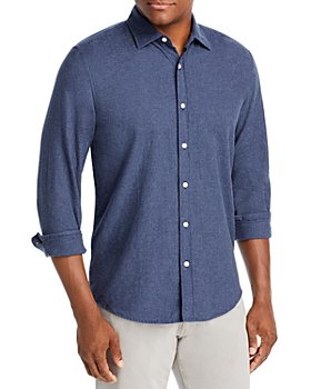 The Men's Store at Bloomingdale's - Cotton Heathered Classic Fit Button Down Shirt - 100% Exclusive