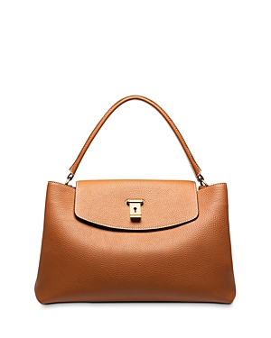 Bally Layka Leather Handbag-Handbags