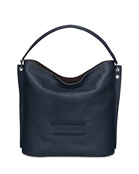 Longchamp - 3D Leather Hobo Bag