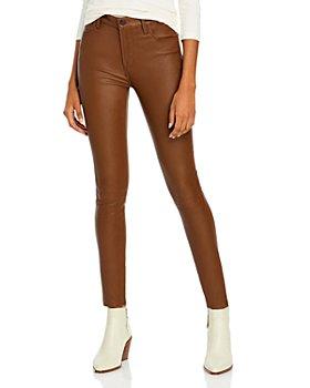 J Brand - Maria Skinny Leather Pants