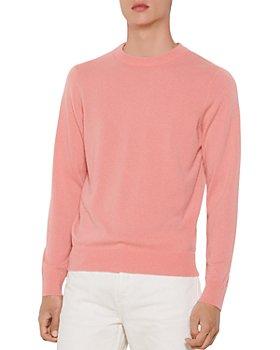 Sandro - Cashmere Double-Thread Crewneck Sweater