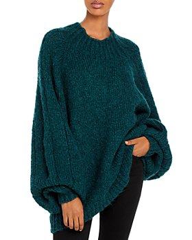 3.1 Phillip Lim - Blouson-Sleeve Sweater