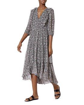 Joie - Jamilla Floral Silk Midi Dress