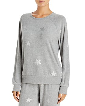 PJ Salvage - Metallic Start Print Pajama Top - 100% Exclusive