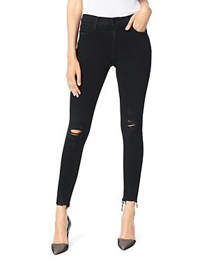 Joe\\\'s Jeans The Charlie Ankle Skinny Jeans in Obsidian-Women