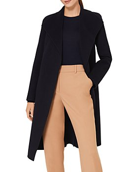 HOBBS LONDON - Camille Belted Wing Collar Coat