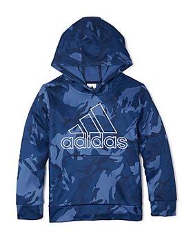 Adidas - Adidas Boys' Core Camo Print Hooded Sweatshirt - Little Kid, Big Kid