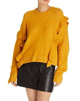 3.1 Phillip Lim - Lofty Ruffle Sweater