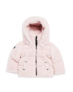 SAM. - Girls' Hooded Faux Fur Down Jacket - Baby