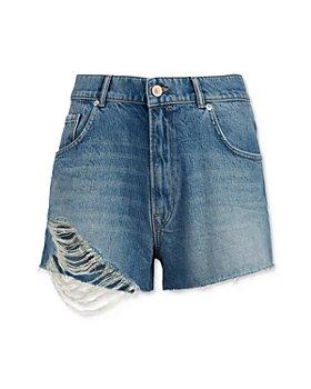 ALLSAINTS - Winnie Denim Cut Off Shorts